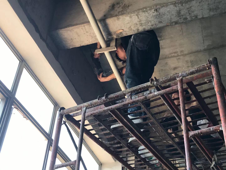 防水补漏施工前的防水渗漏修补准备