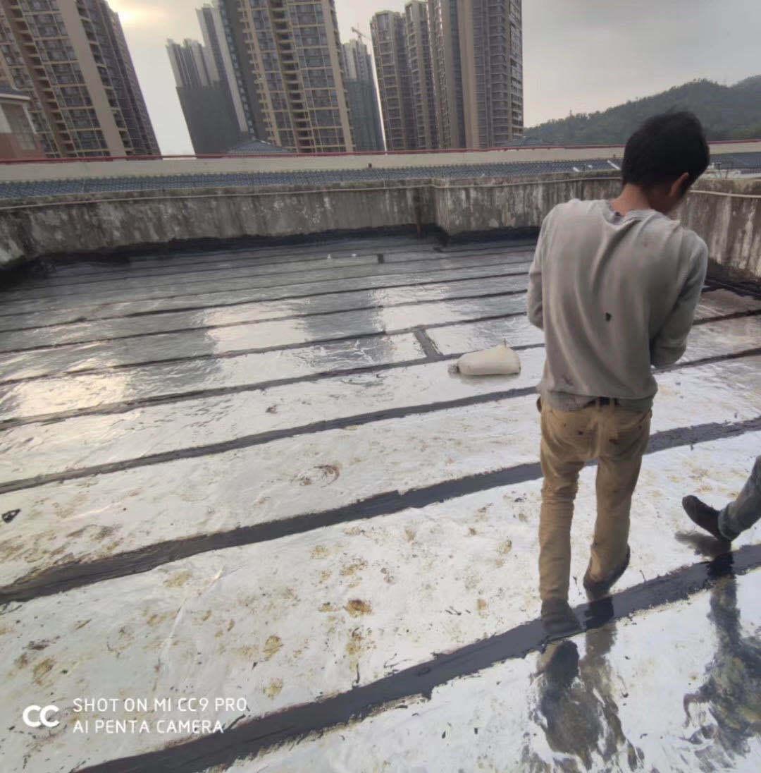 防水工程施工中,容易出现的4种质量问题。